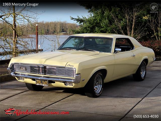 1969 Mercury Cougar (CC-1433620) for sale in Gladstone, Oregon