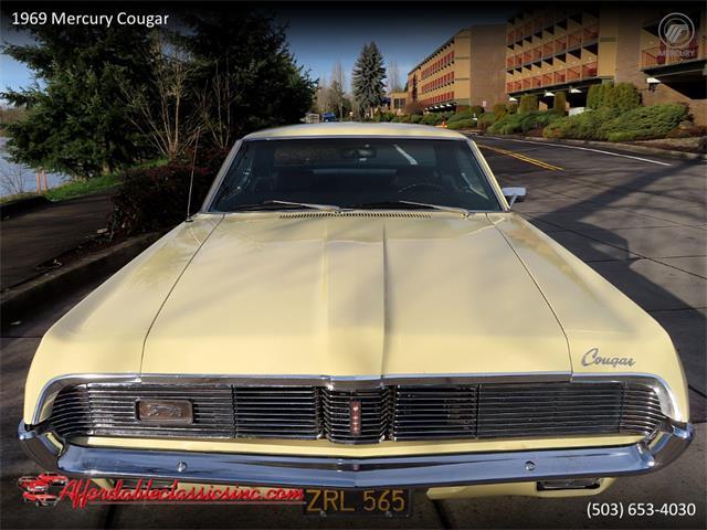 1969 Mercury Cougar (CC-1433620) for sale in Gladstone, Oregon