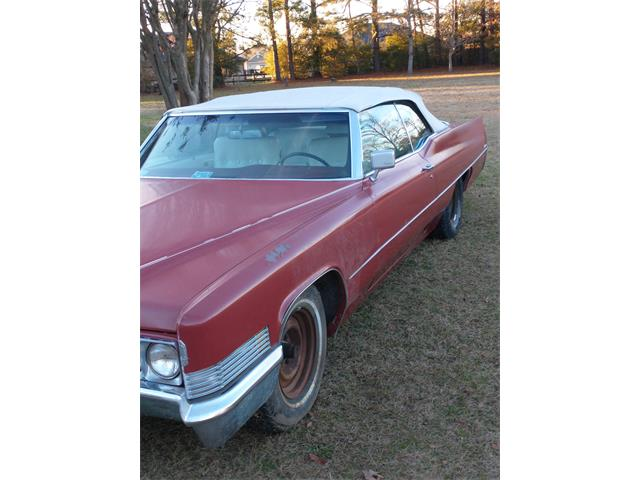 1970 Cadillac 2-Dr Convertible (CC-1433776) for sale in StMarks, Florida