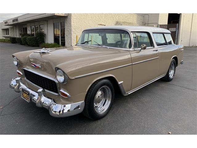1955 Chevrolet Bel Air Nomad (CC-1430380) for sale in El Cajon, California