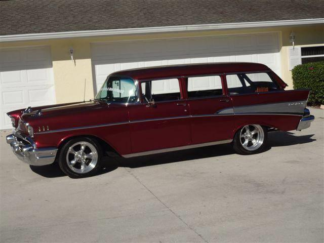 1957 Chevrolet Bel Air Wagon (CC-1433867) for sale in Sarasota, Florida