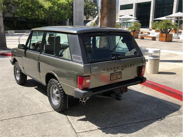1989 Land Rover Range Rover (CC-1433946) for sale in Glendale, California