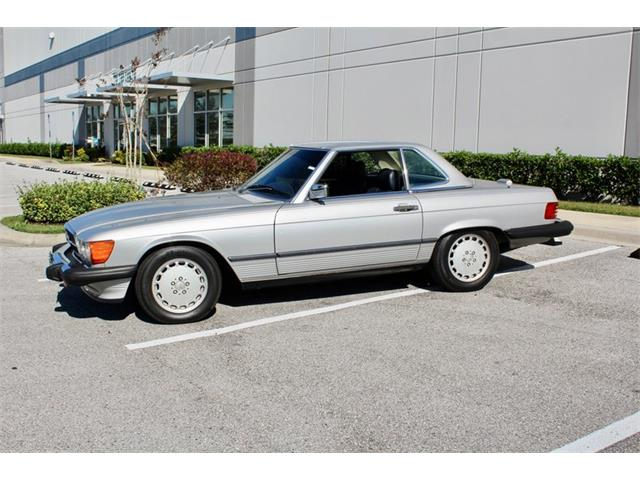 1989 Mercedes-Benz 560SL (CC-1433970) for sale in Sarasota, Florida