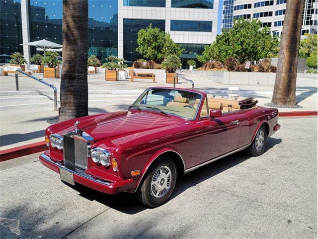 1987 Rolls-Royce Corniche (CC-1434062) for sale in Glendale, California