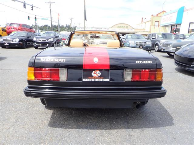 1986 Maserati Spyder (CC-1434249) for sale in Tacoma, Washington