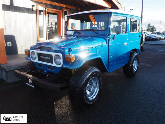 1982 Toyota Land Cruiser FJ (CC-1434250) for sale in Tacoma, Washington