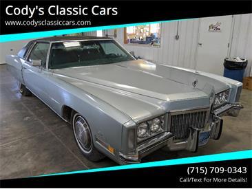 1972 Cadillac Eldorado (CC-1434353) for sale in Stanley, Wisconsin