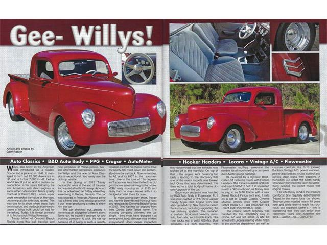 1941 Willys Pickup (CC-1434440) for sale in EUSTIS, Florida