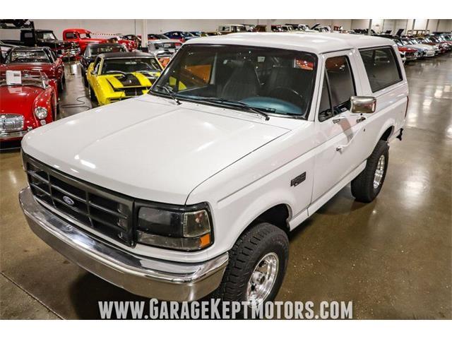 1996 Ford Bronco (CC-1434538) for sale in Grand Rapids, Michigan
