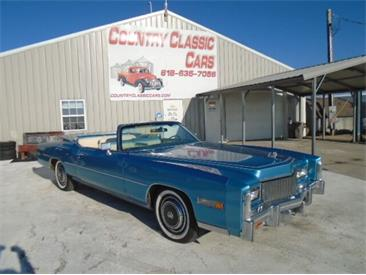 1976 Cadillac Eldorado (CC-1434551) for sale in Staunton, Illinois