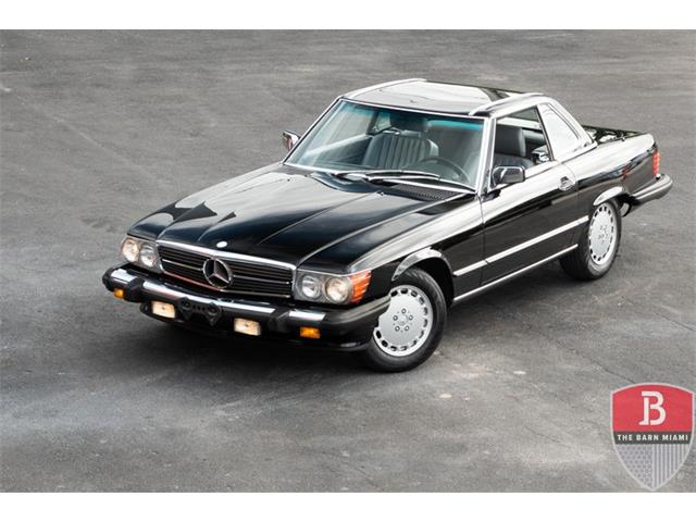 1989 Mercedes-Benz SL-Class (CC-1434631) for sale in Miami, Florida