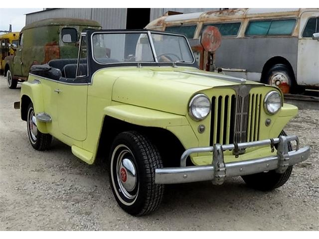 1948 Willys Jeepster (CC-1430466) for sale in Cadillac, Michigan