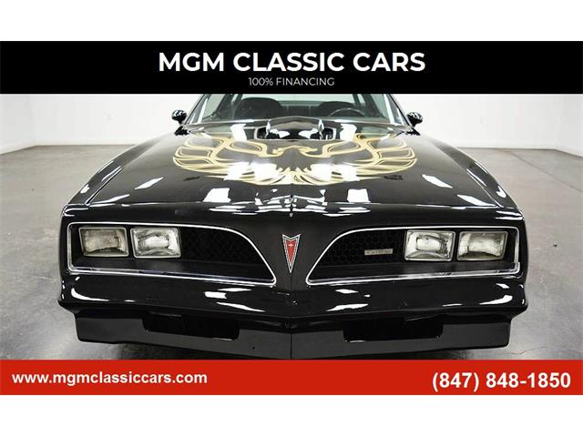1978 Pontiac Firebird Trans Am (CC-1434822) for sale in Addison, Illinois