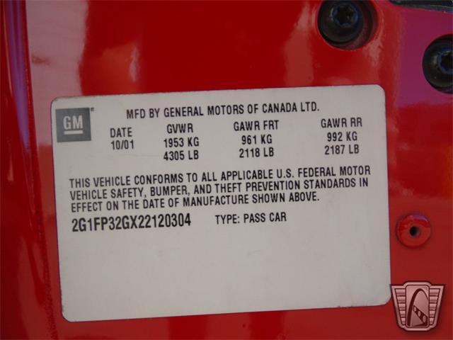 2002 Chevrolet Camaro (CC-1434827) for sale in O'Fallon, Illinois