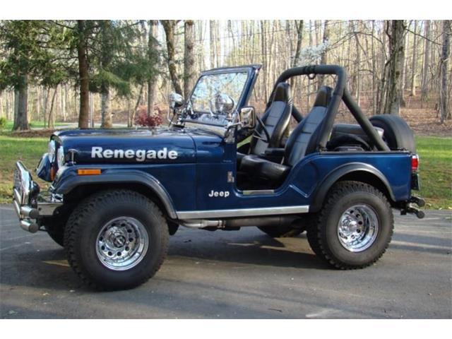 1980 Jeep CJ (CC-1434850) for sale in Greensboro, North Carolina