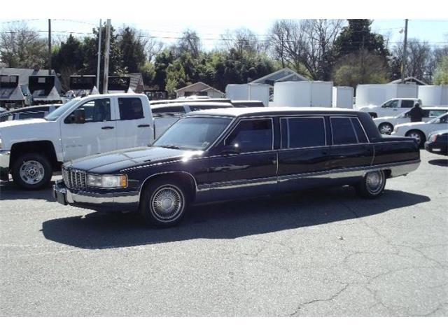 1996 Cadillac Fleetwood (CC-1434860) for sale in Cadillac, Michigan