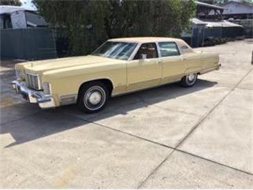 1975 Lincoln Continental (CC-1434891) for sale in Cadillac, Michigan