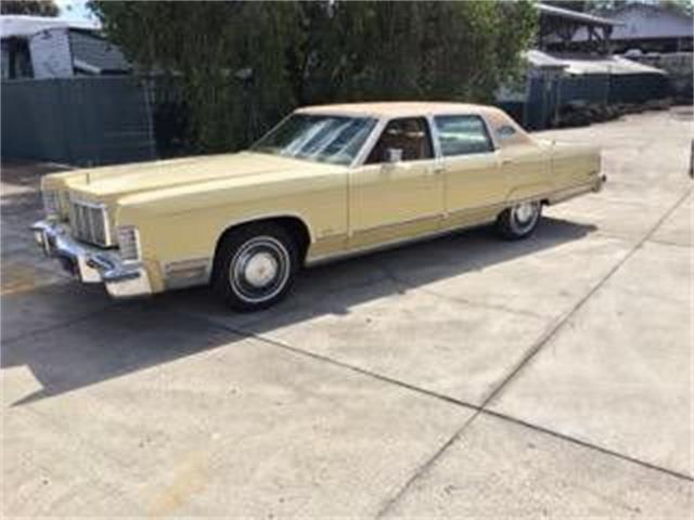 1975 Lincoln Continental (CC-1434891) for sale in Cadillac, Michigan