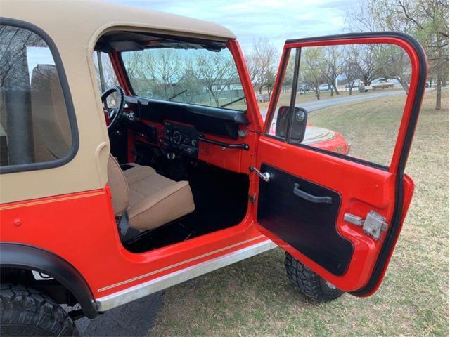 1979 Jeep CJ7 (CC-1430497) for sale in Fredericksburg, Texas