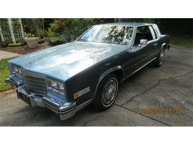 1985 Cadillac Eldorado (CC-1434972) for sale in Cadillac, Michigan