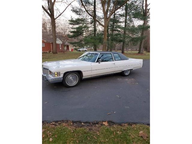1974 Cadillac Coupe DeVille (CC-1435003) for sale in Cadillac, Michigan