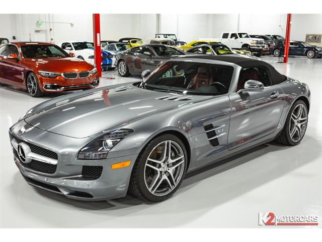 2012 Mercedes-Benz SLS AMG (CC-1435021) for sale in Jupiter, Florida