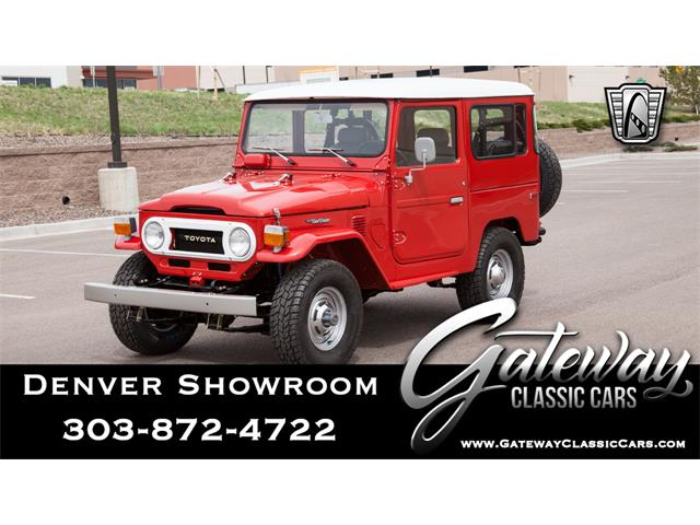 1978 Toyota Land Cruiser FJ40 (CC-1435141) for sale in O'Fallon, Illinois
