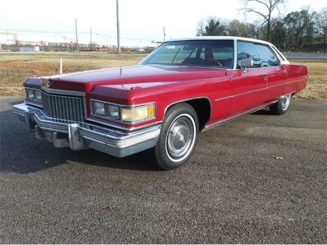 1975 Cadillac DeVille (CC-1430515) for sale in Cadillac, Michigan