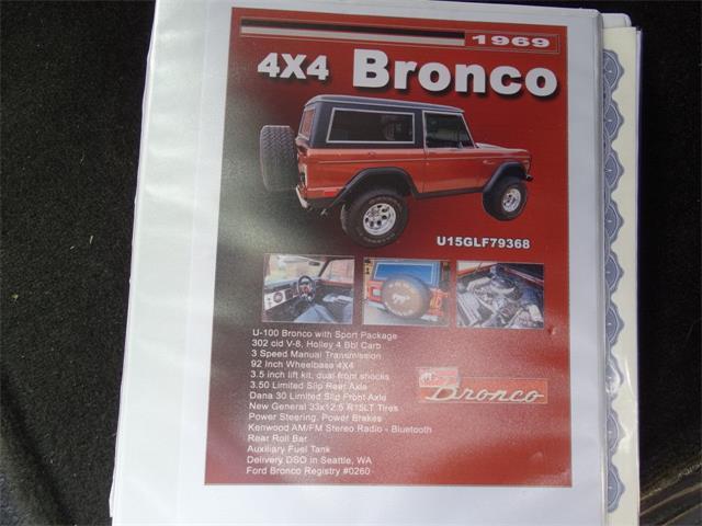 1969 Ford Bronco (CC-1435180) for sale in O'Fallon, Illinois