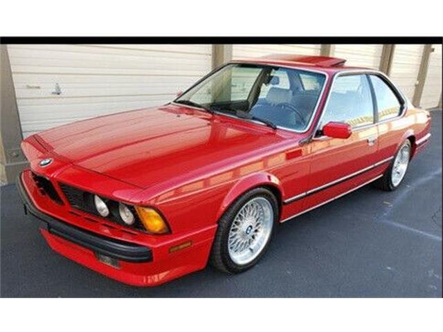 1988 BMW 635csi (CC-1435223) for sale in Cadillac, Michigan