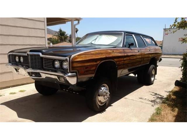 1972 Ford Country Squire (CC-1435230) for sale in Cadillac, Michigan