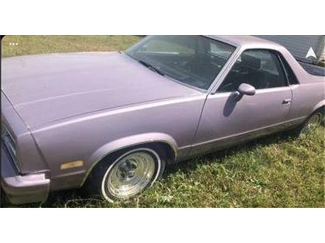 1982 Chevrolet El Camino (CC-1435255) for sale in Cadillac, Michigan