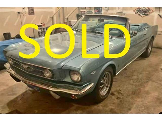 1966 Ford Mustang (CC-1435279) for sale in Annandale, Minnesota