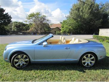2007 Bentley Continental (CC-1435348) for sale in Delray Beach, Florida