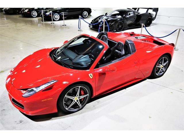 2014 Ferrari 458 (CC-1435554) for sale in Chatsworth, California