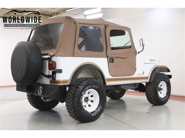 1983 Jeep CJ (CC-1435875) for sale in Denver , Colorado