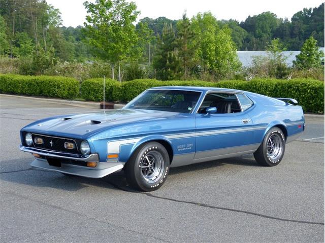 1971 Ford Mustang (CC-1435914) for sale in Greensboro, North Carolina