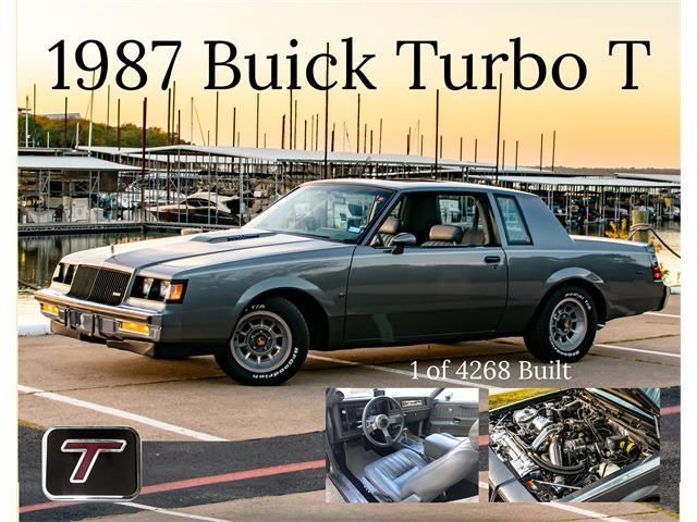 1987 Buick Regal (CC-1436059) for sale in BEDFORD, Texas