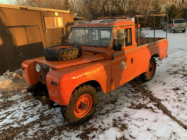 1967 Land Rover Series IIA (CC-1436110) for sale in Winnipeg, Manitoba