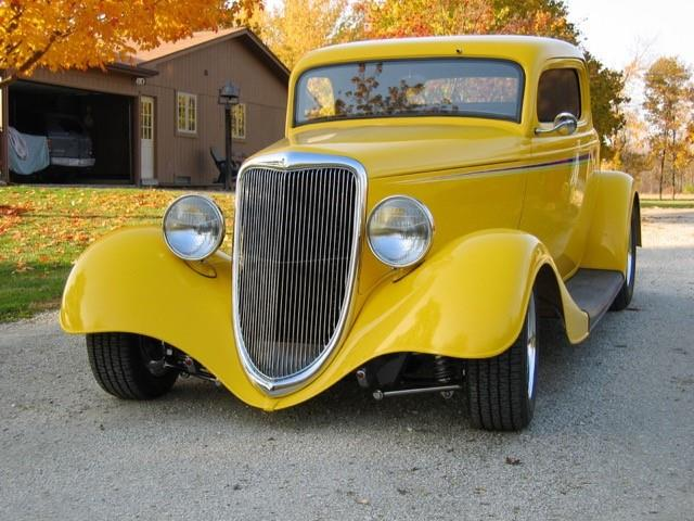 1934 Ford 3-Window Coupe (CC-1436111) for sale in Armada, Michigan