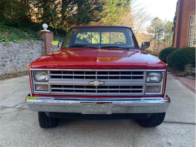 1986 Chevrolet K-10 (CC-1436180) for sale in Greensboro, North Carolina