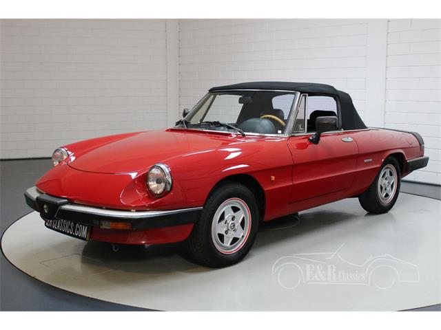 1987 Alfa Romeo Spider (CC-1436284) for sale in Waalwijk, [nl] Pays-Bas