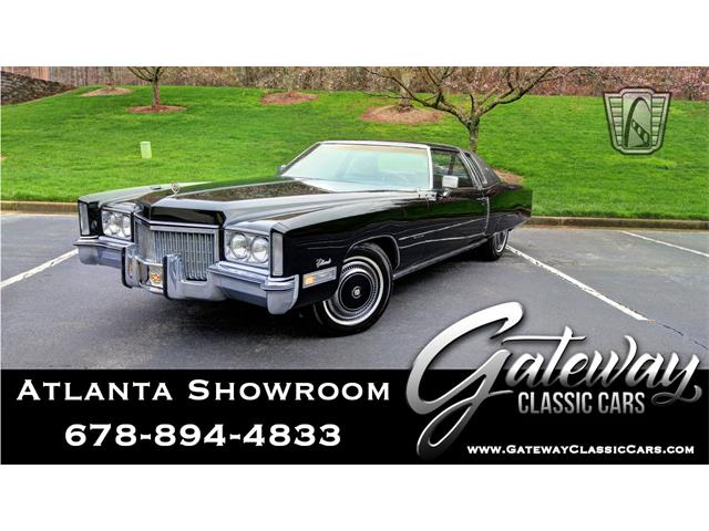 1972 Cadillac Eldorado (CC-1436347) for sale in O'Fallon, Illinois