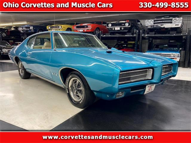 1969 Pontiac GTO (CC-1436529) for sale in North Canton, Ohio