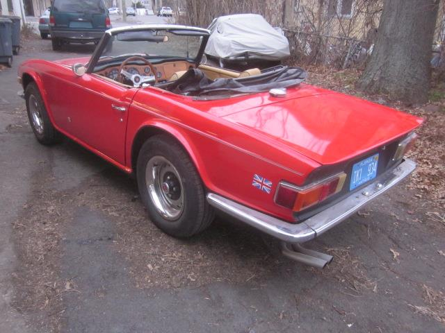 1972 Triumph TR6 (CC-1430665) for sale in Stratford, Connecticut