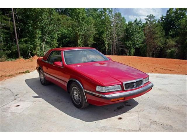 1989 Chrysler TC by Maserati (CC-1436684) for sale in Roanoke, Alabama