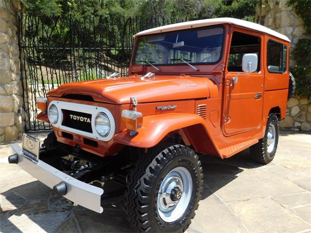 1977 Toyota Land Cruiser FJ (CC-1436690) for sale in Santa Barbara, California