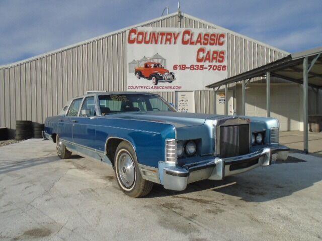 1977 Lincoln Town Car (CC-1436844) for sale in Staunton, Illinois