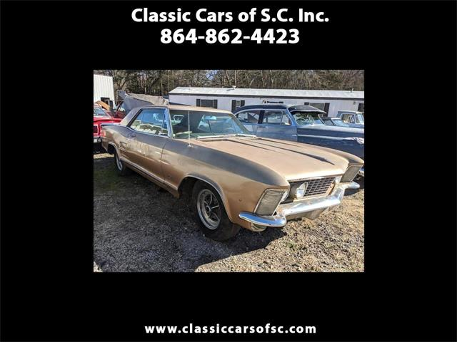 1963 Buick Riviera (CC-1436866) for sale in Gray Court, South Carolina