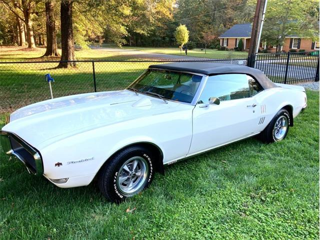 1968 Pontiac Firebird (CC-1436867) for sale in Greensboro, North Carolina